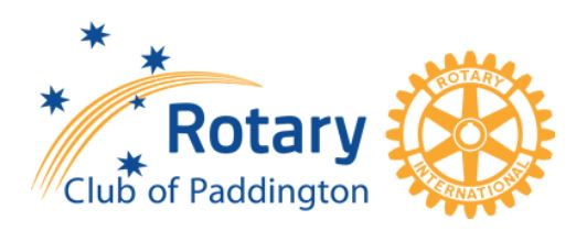Rotary club paddington